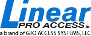 Linear Pro Access residential and commercial garage door openers